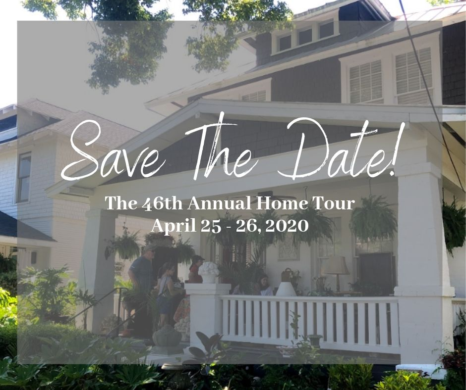 Save the Date - Home Tour 2020