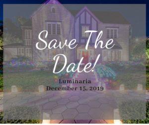 Save the Date - Luminaria 2020