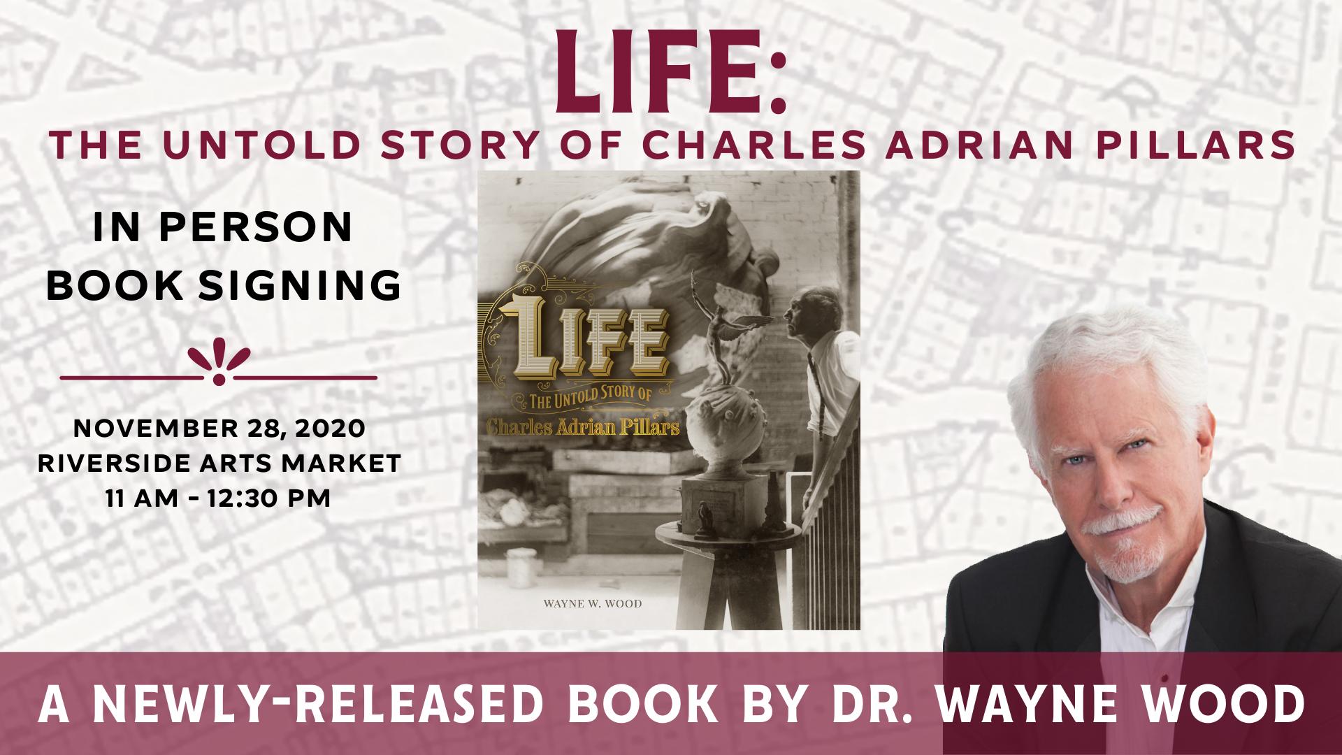 Dr. Wayne Wood Book Signing (1)